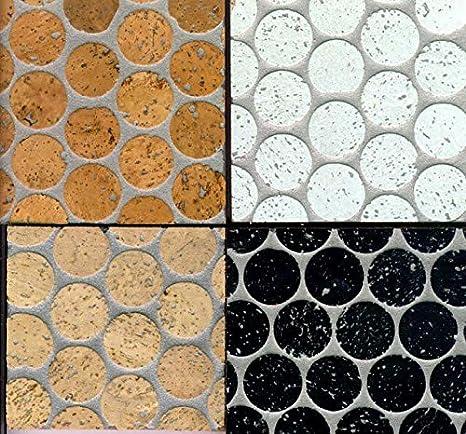 Kork Mosaik Fliesen Bodenbelag Wandbelag 60 Cm X 30 Cm Starke 6mm