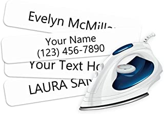 product image for Iron On Clothing Labels- Personalized with Your Name! (500)