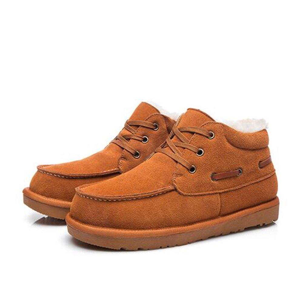 Feifei Herren Freizeitschuhe Männer Schuhe Winter Outdoor Outdoor Outdoor Verdickung Warm Baumwolle Schuhe 3 Farben (Farbe   02, größe   EU 41 UK7.5-8 CN42) 1d5182