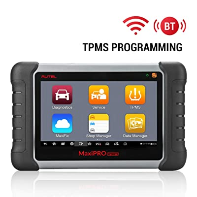 Autel MaxiPro MP808TS Scanner with TPMS Programming Sensor Relearn Activation OE-Level Full Systems Diagnostics 18 Service Functions Active Test for Workshops Garages: Automotive