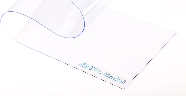 PVC Streifenvorhang Lamellen 3x300mm fertig vormontiert A2 H1,75 x B1,00 m