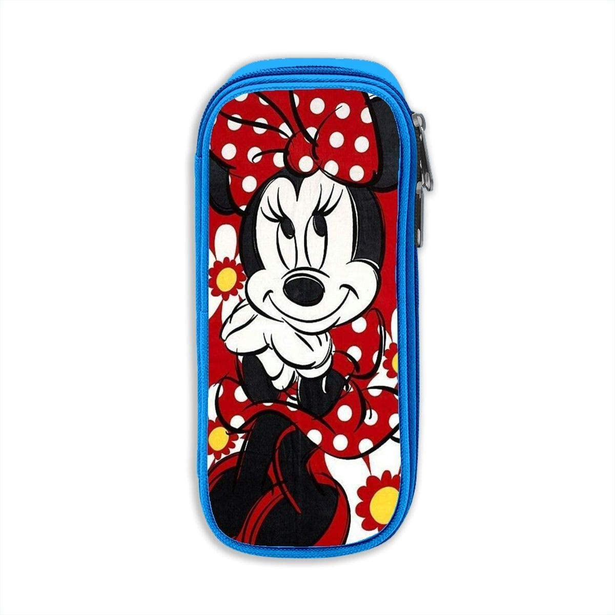 Estuche Bolso Beautiful Minnie Print Pencil Case Pens Pouch Bag Pen Makeup Box, Stylish Student Boxes Office Bag Stationary Case Cosmetic Bag with Zipper: Amazon.es: Equipaje