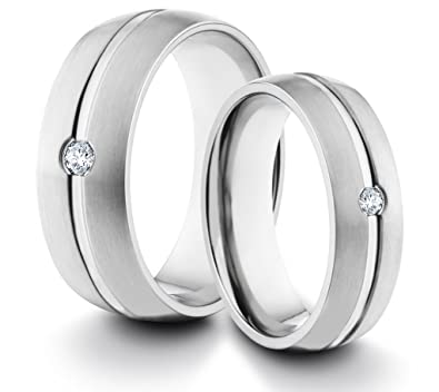 rings fit band silver comfort wedding ring plain steel stainless