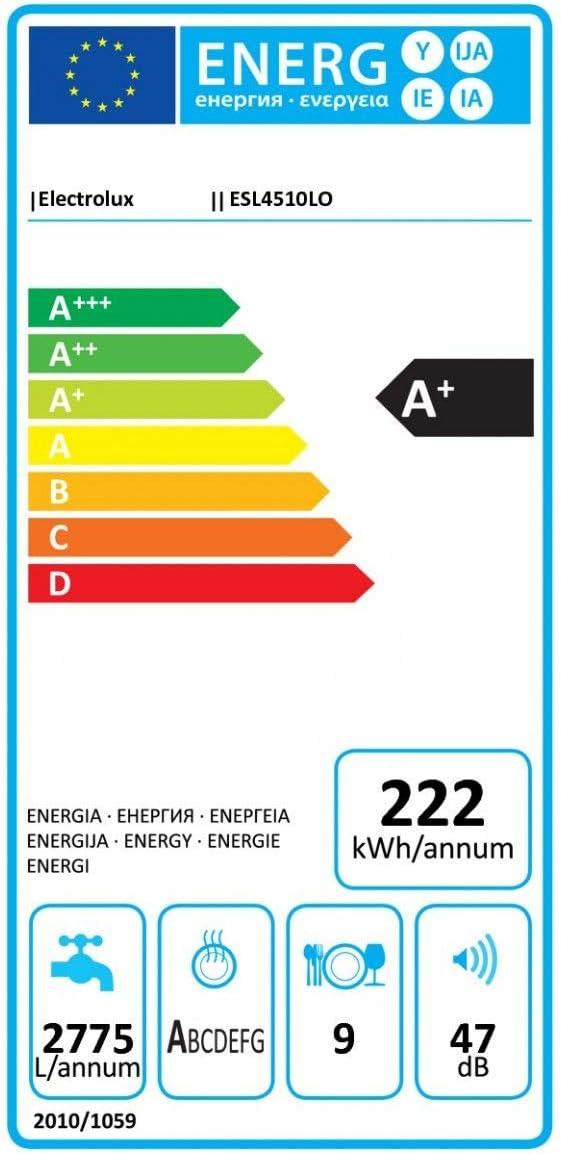 Electrolux ESL4510LO Totalmente integrado 9cubiertos A+ ...