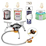 VSNOON Camping Stove Gas Stoves with Piezo Ignition