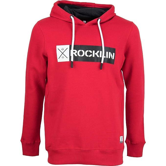 Rocklin Herren Sweatshirt Eastvale 1: : Bekleidung