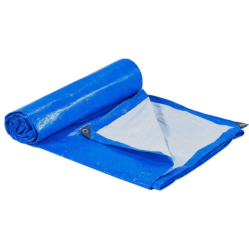 47m BÂche de Prougeection Plastique De Prougeection Solaire Imperméable à l'eau De Lourde Imperméable Facile à Plier 3  4m (Taille   3  4m)