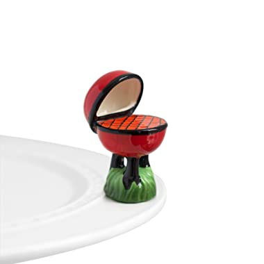 Nora Fleming Hand-Painted Mini: Hot Stuff (Grill) A63