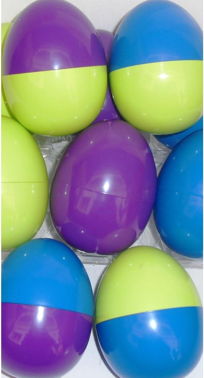 Pack de 30 Huevos de Pascua vacíos de colores para rellenar con sorpresas OFERTÓN