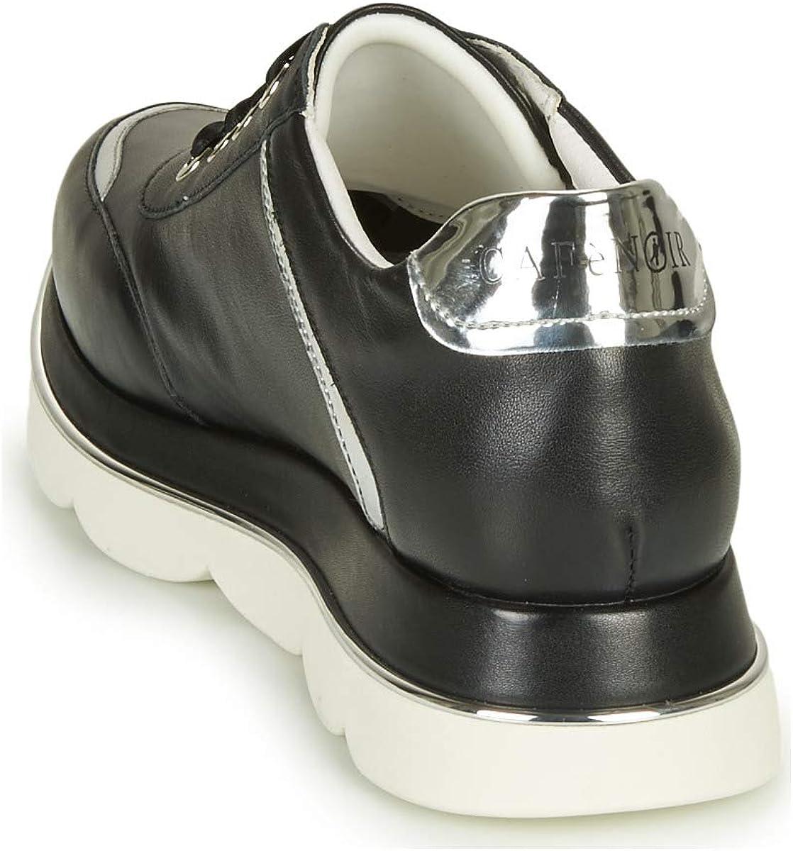 CAFE`NOIR 203 Bianco Scarpa Donna Sneakers DB171 Nero