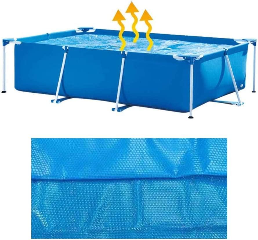 Round Solar Pool Cover 6ft Solar Cover for 4//5//6//8//10//12//15ft Diameter Easy Set and Frame Pools Round Pool Cover Protector Foot Above Ground Blue Protection Swimming Pool Solar Cover