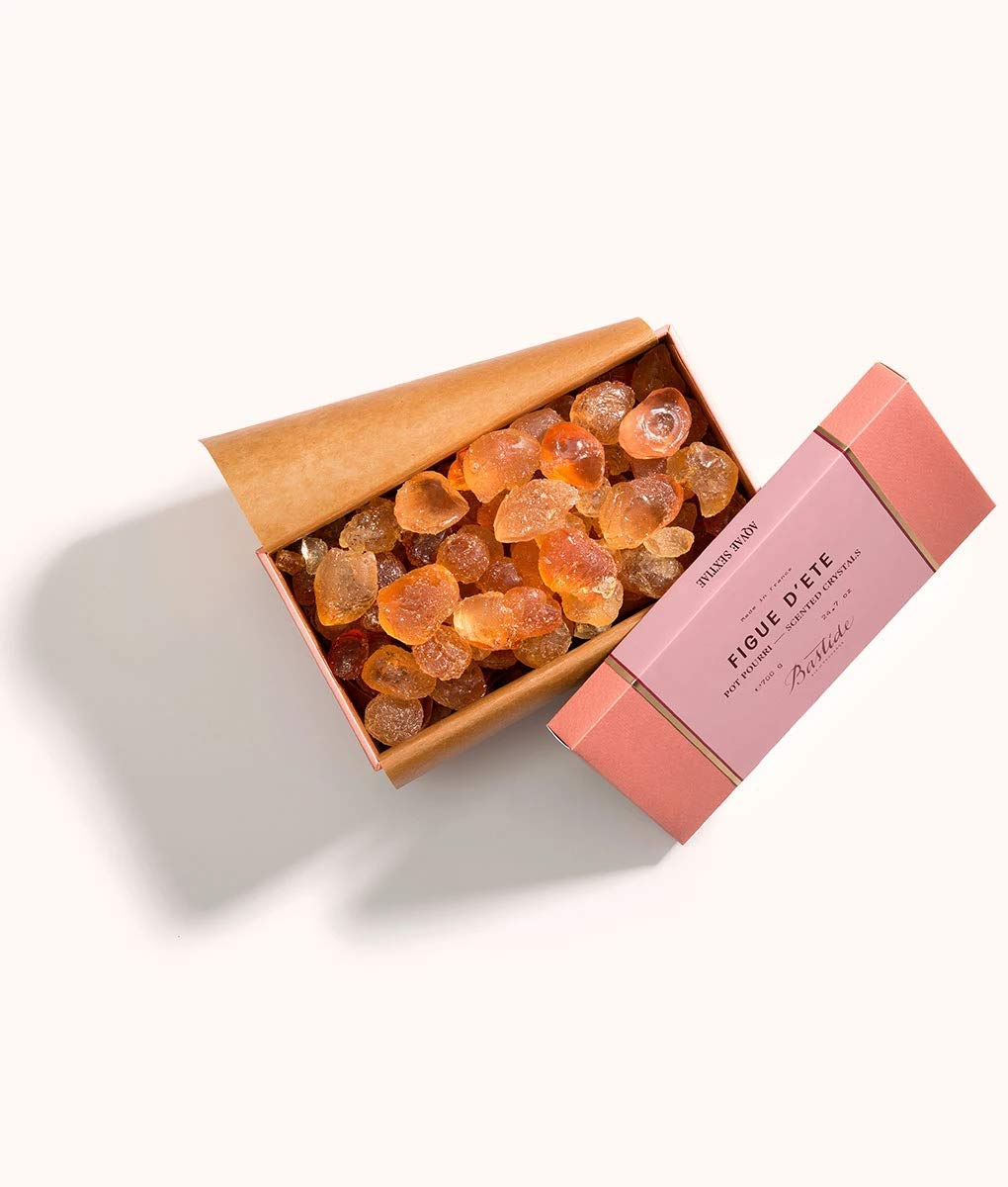 Bastide Figue D'Ete Potpourri Scented Crystals 24.7oz (700g) by Bastide