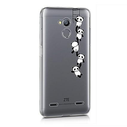 Funda ZTE Blade V7 Lite Escalera de Panda Mariposas Suave ...