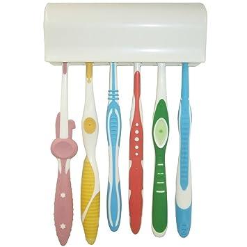 Tankerstreet - Juego de cepillos de dientes con carcasa dura (extra suaves y con cerdas