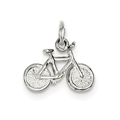 Amazon diamond2deal 925 sterling silver bicycle pendant for diamond2deal 925 sterling silver bicycle pendant for unisex aloadofball Gallery