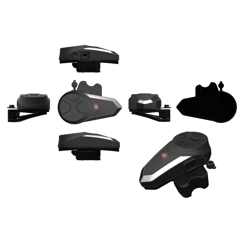 Helmet Communication Systems FM Radio//Handsfree//Range-1000M//2-3 Riders Pairing ENCHICAS 2 Pack BT-S3 Motorcycle Intercom Bluetooth Helmet Headset with Mic Victory Technology
