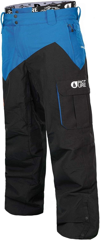 Picture Organic PANTS メンズ ブラックブルー Medium