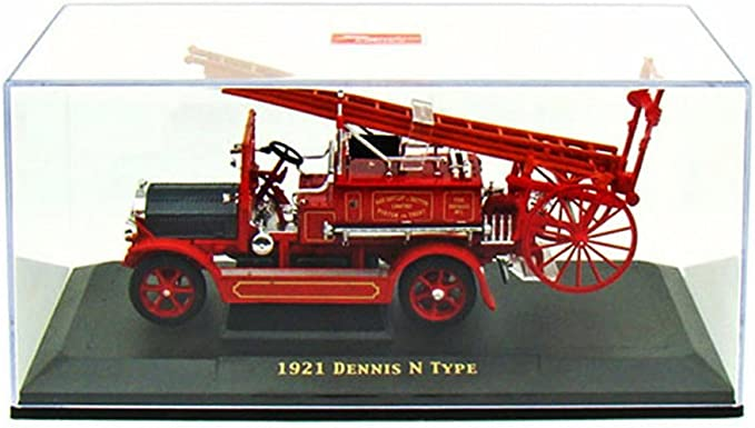 1921 DENNIS N TYPE FIRE ENGINE RED 1//43 DIECAST MODEL BY ROAD SIGNATURE 43008