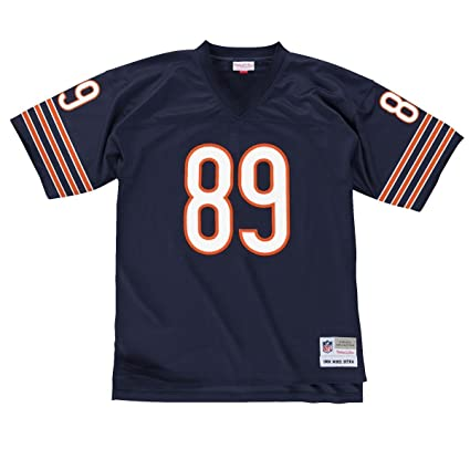 8b88f79dc5e Amazon.com : Mike Ditka Navy Blue Chicago Bears Throwback Jersey ...