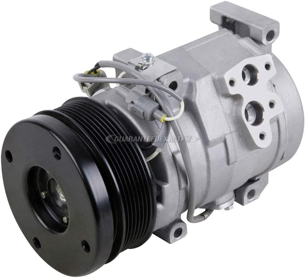 AC Compressor /& A//C Clutch For Toyota Tundra 4Runner /& FJ Cruiser BuyAutoParts 60-01784NA NEW