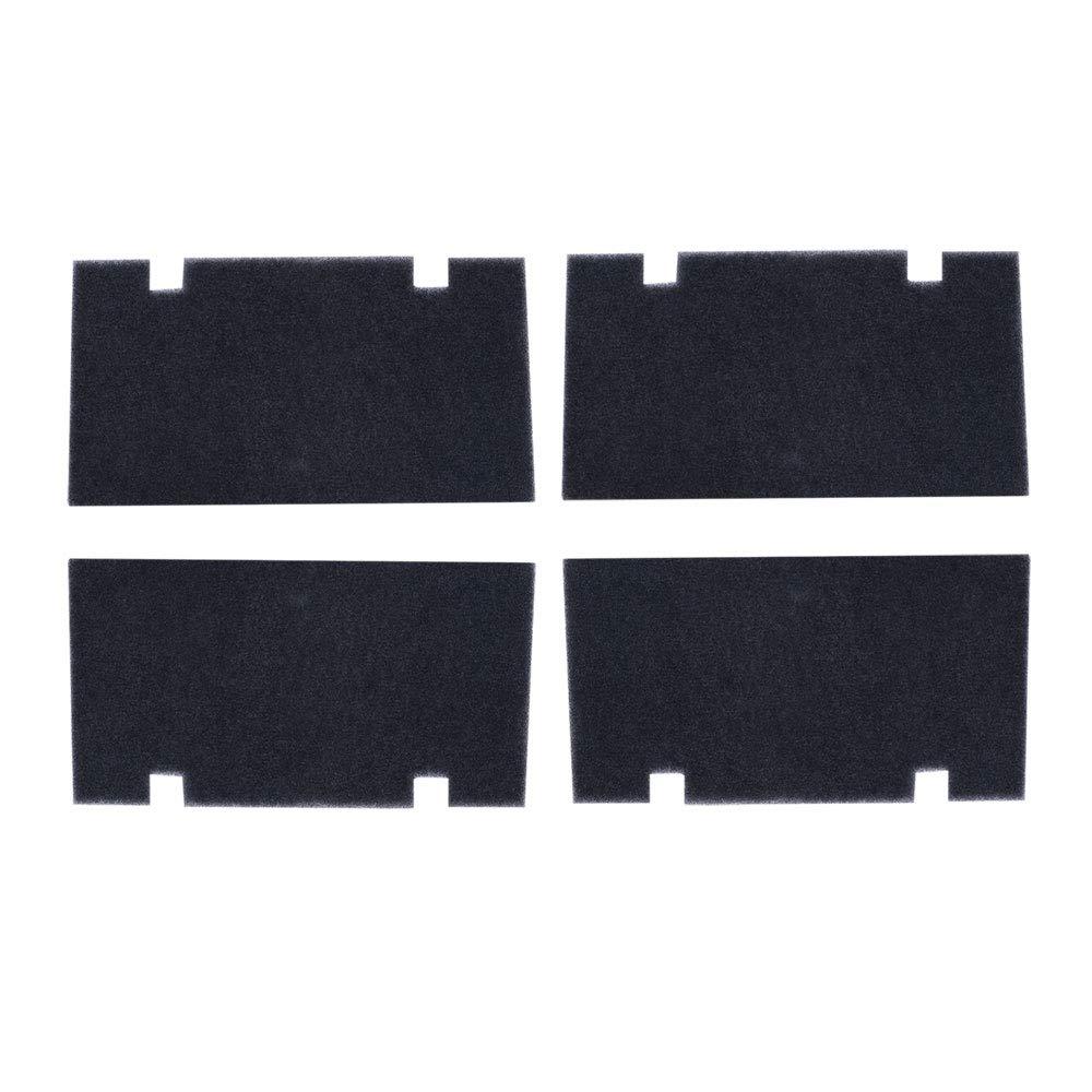 Anydream 4 Pack Black 14' x 7.5' RV A/C Air Filters Replace Camper Air Conditioner Filter Foam 3313107.103/3105012.003