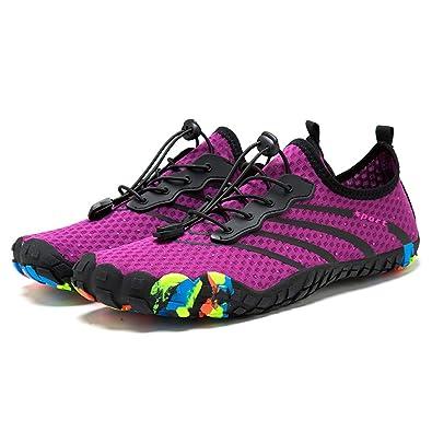 90514f82061 Chaussures de Trail Running Homme Femme Chaussures Minimalistes Chaussures  de Sport Gym Fitness Randonnée Escalade Marche Barefoot Shoes Chaussures ...