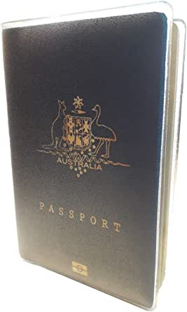 Passport Cover Holder Jacket Wallet Protector Frosted Plastic 5 Year Guarantee