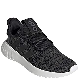 adidas Women's Kaptir X Running Shoe, Black/Black/Grey, 8.5 M US