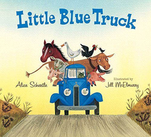 Little Blue Truck Lap Board Book Little Blue Truck