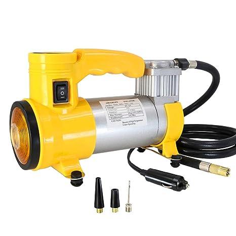 YONG FEI Compresores de aire - compresor de aire portátil de la bomba de aire del coche ...