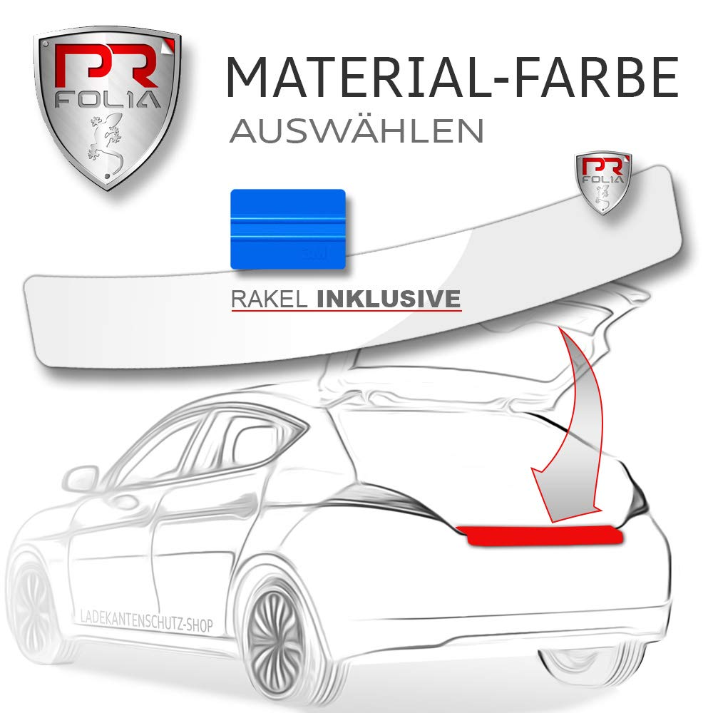 PR-Folia Lackschutz-folie passend f/ür Tucson inkl selbstklebend Schwarz Autofolie RAKEL Sto/ßstangenschutz