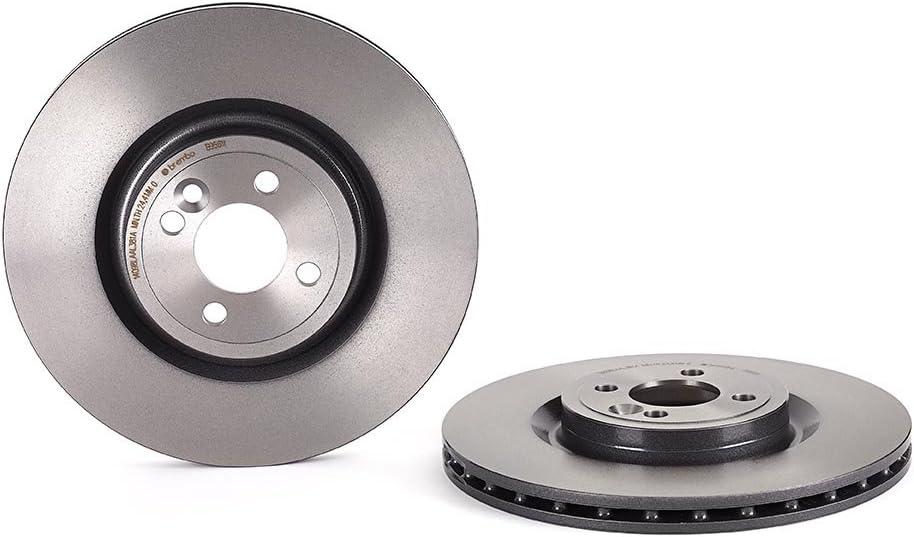 Disco Freno con Verniciatura UV Set di 1 Brembo 09.B356.11 - Anteriore