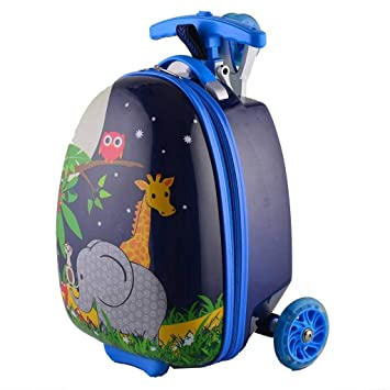 Amazon.com: C-Xka - Maleta infantil para scooter de 16.0 in ...
