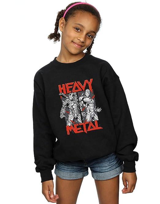 Marvel Niñas Heavy Metal Camisa De Entrenamiento: Amazon.es: Ropa y accesorios