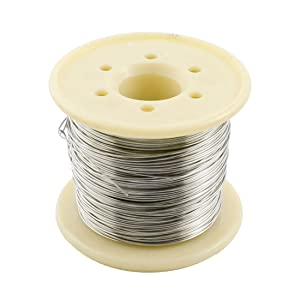 uxcell a14092500ux0360 30M AWG24 0.5mm Nichrome Resistance Resistor Wire for Heating Elements