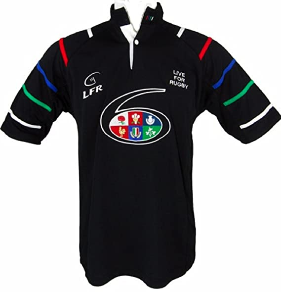 LIVE FOR RUGBY - Camiseta de Rugby Six Nations Transpirable ...