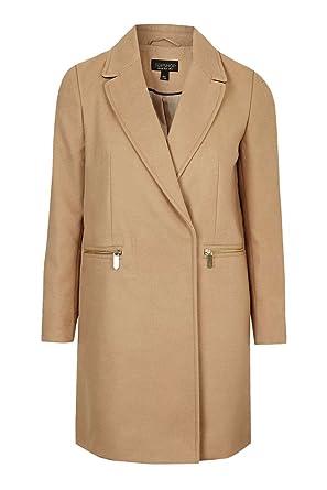 Repliken neuartiger Stil gut Topshop Damen Trenchcoat Mantel beige beige Gr. 42, beige ...