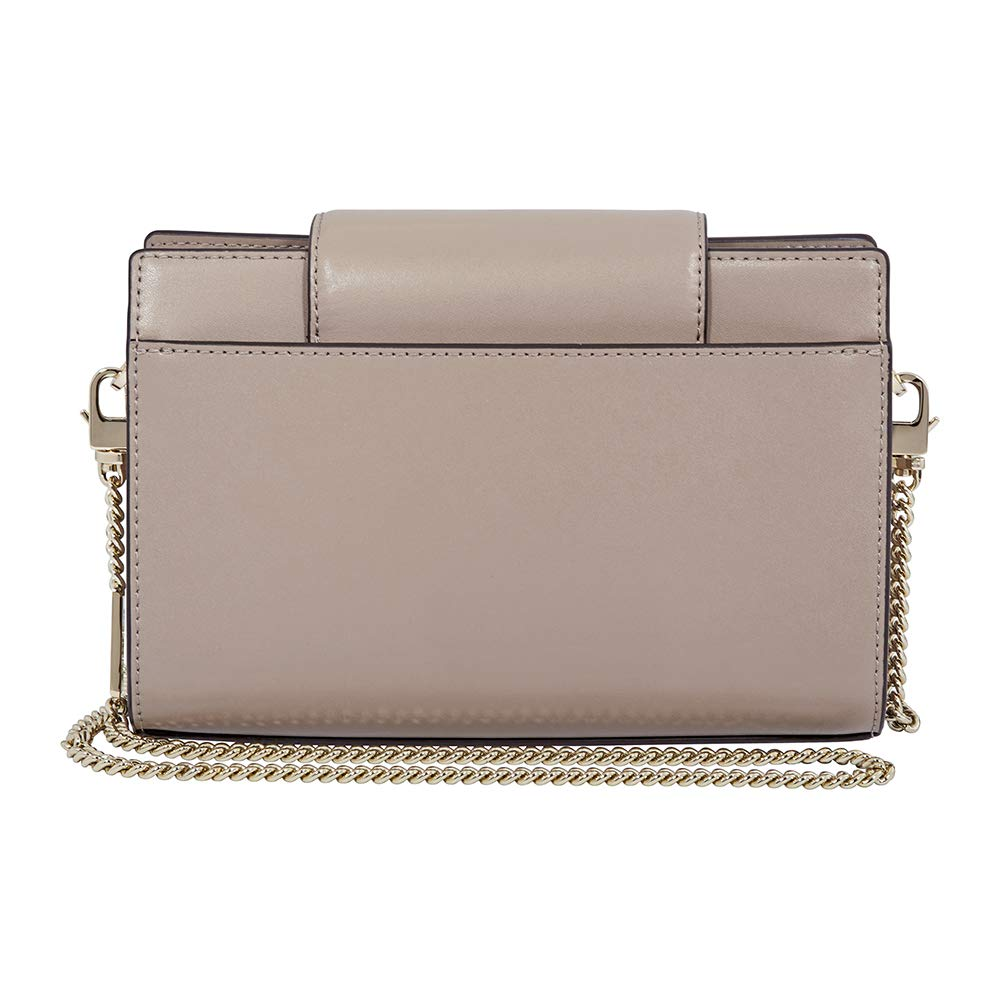 240ab86c0ad7 Michael Kors Medium Floral Leather Crossbody Clutch- Truffle: Handbags:  Amazon.com