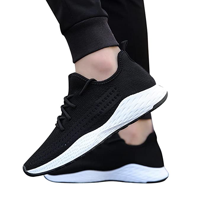 446086066d09d Amazon.com: Men Sneakers,Hemlock Lace up Sport Shoes Running ...
