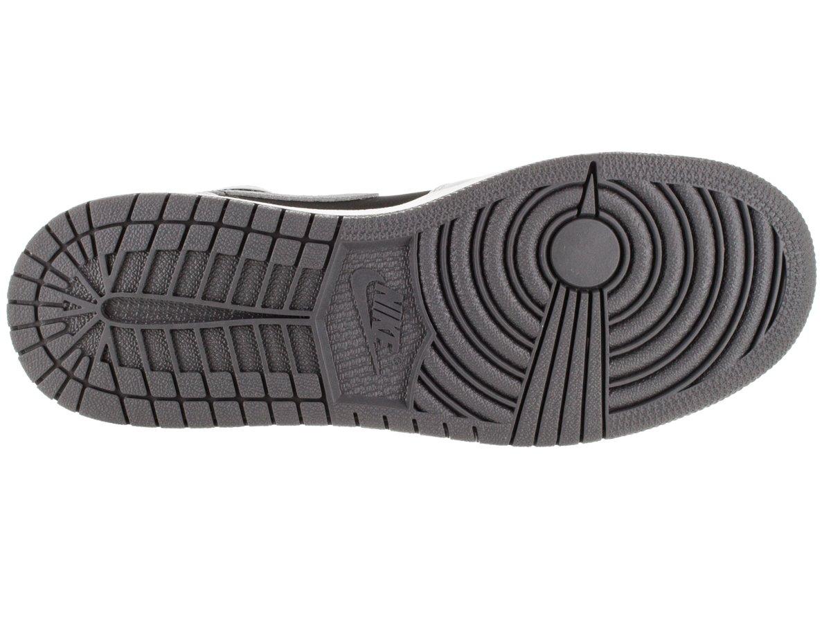 Air Jordan 1 Retro High GG Kids Wolf Grey//Black//Dark Grey//Sport Fuchsia, Size 6Y M US