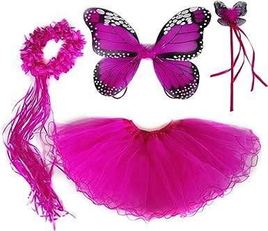 Sugar Pie Butterfly Tiara Hot Pink
