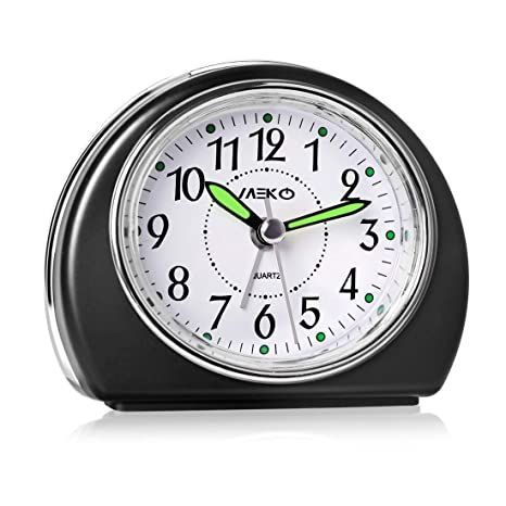 Amazon.com: MEKO - Reloj despertador para dormitorio ...