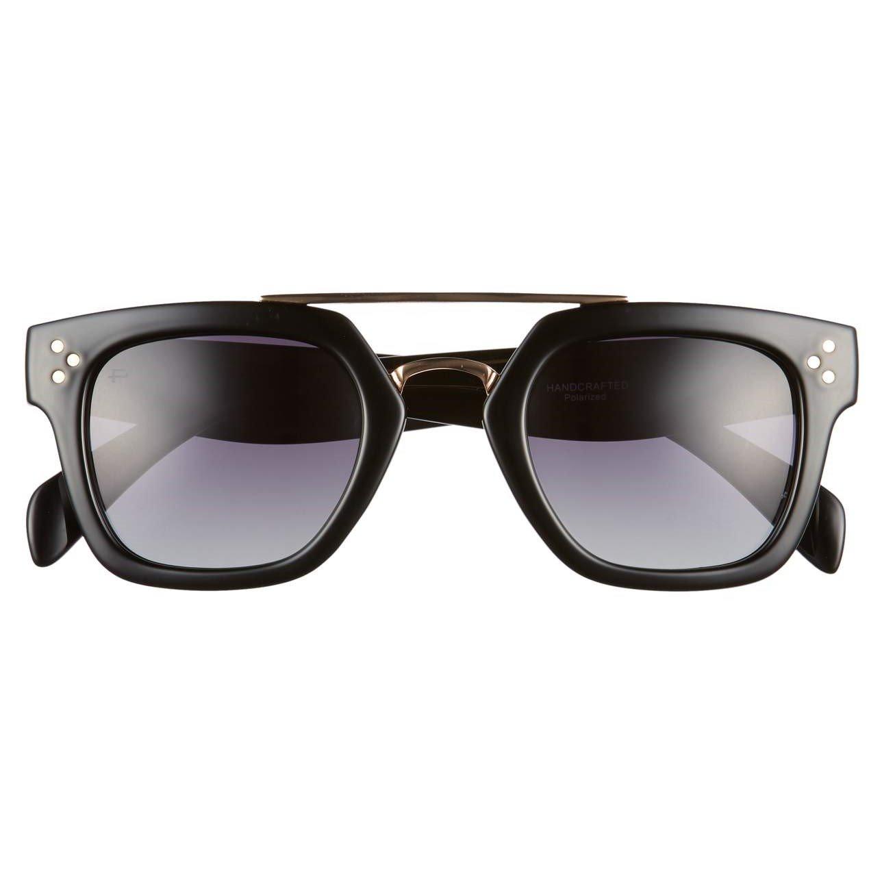 "dcd71ab4c5 Amazon.com  PRIVÉ REVAUX ICON Collection ""The Foxx"" Designer Polarized  Geometric Sunglasses  Clothing"