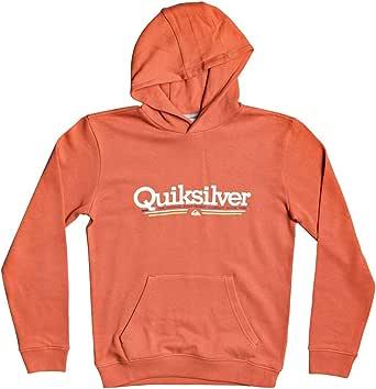 Quiksilver Tropical Lines - Sudadera con Capucha para Niños 8-16 Sudadera con Capucha Niños