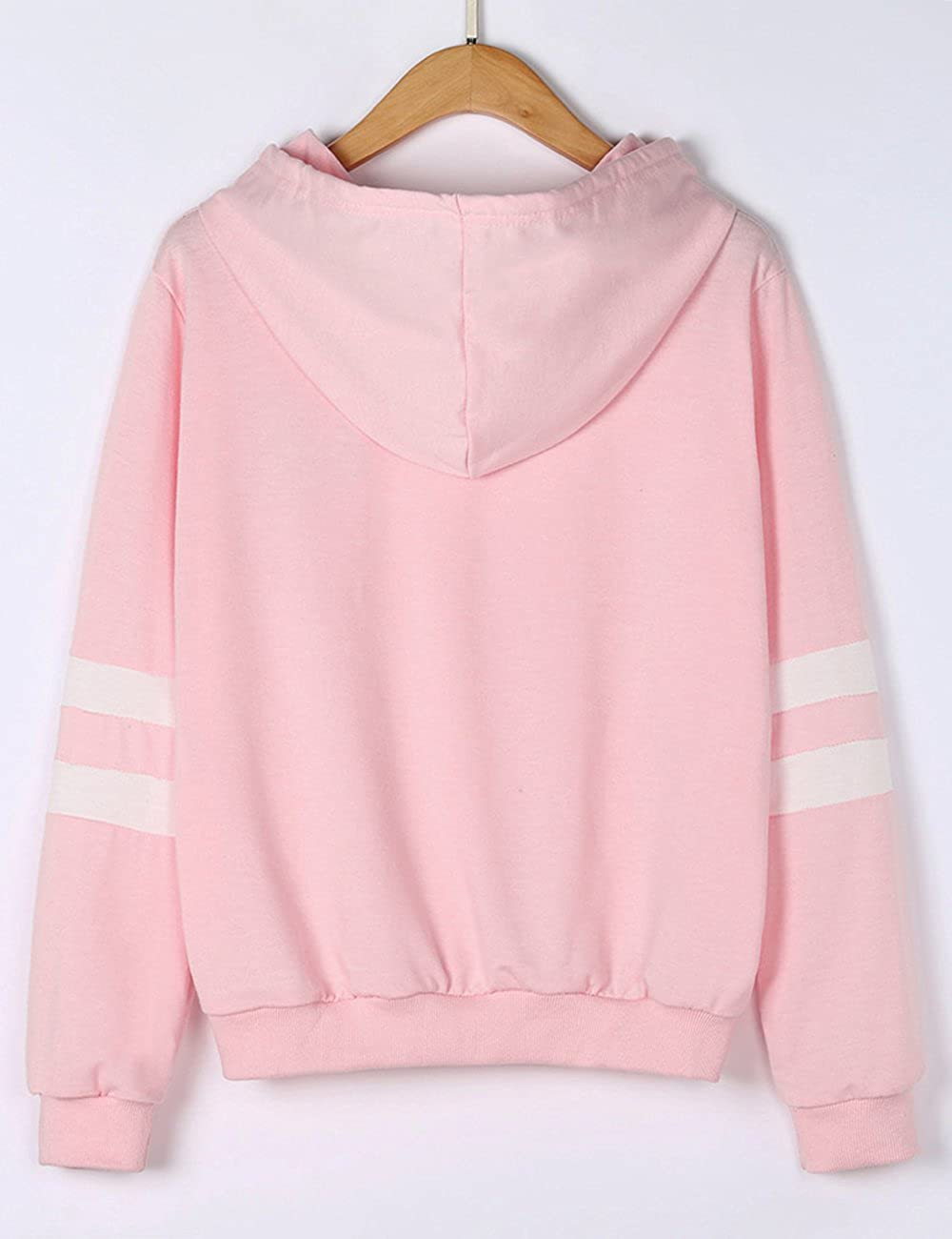 Weant Women Planet Crop Hoodies Star Print Pullover Hoodie Sweatshirt Sweater Jumper Sale Teen Girls Hooded