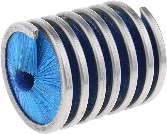 Shumo Cepillo de Cuerda de Nylon para la Herramienta de Lavado del Limpiador de Cuerda de Escalada en Roca Cepillo de Cuerda de Escalada al Aire Libre