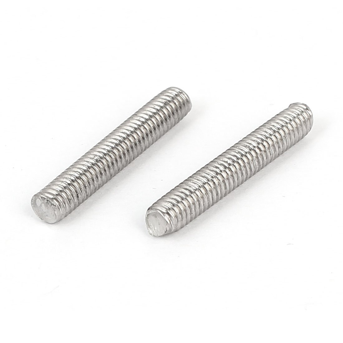 M4 x 25 mm Stainless Steel 304 Fully Threaded Rod Rod Stud Fastener 20 Pieces