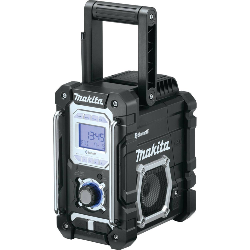 Makita XRM04B 18V LXT Lithium-Ion Cordless Bluetooth Job Site Radio, Tool Only by Makita