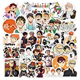 Bowinr 50pcs Haikyu!! Car Stickers, Anime Bumper