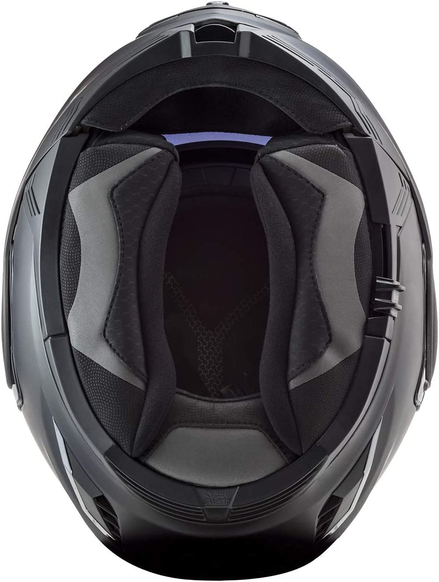 Gloss Battleship Gray - Large LS2 Helmets Valiant II Modular Helmet